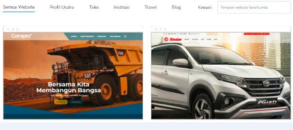 Jasa Pembuatan Website Dengan Platform Wordpress Niagahoster