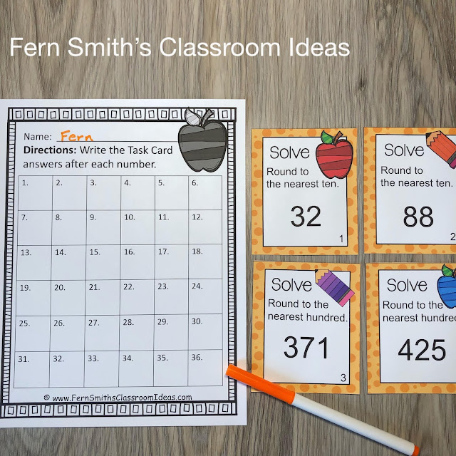 Click here to Download this 3rd Grade Go Math 1.2 Round to the Nearest Ten or Hundred Bundle Resource for Your Classroom Today