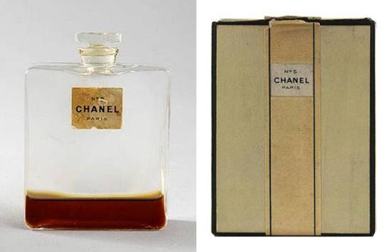 Chanel N°5 first packaging