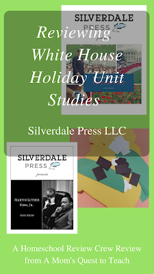 Silverdale Press LLC cover images for Martin Luther King, Jr. and Veterans Day Unit Studies