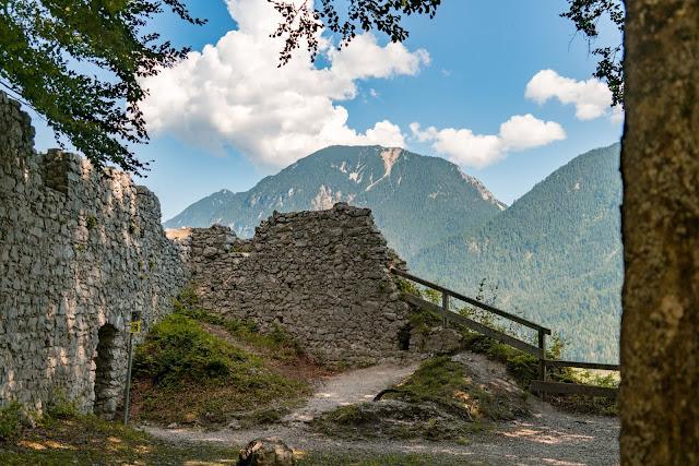 Entdeckungstouren Wasser Loisach - Kramerplateauweg - Ruine Werdenfels – Burgrain 07
