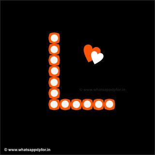 L Name Love Image