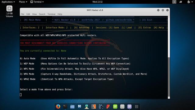 Wifi-Hacker لأختراق الوايرلس