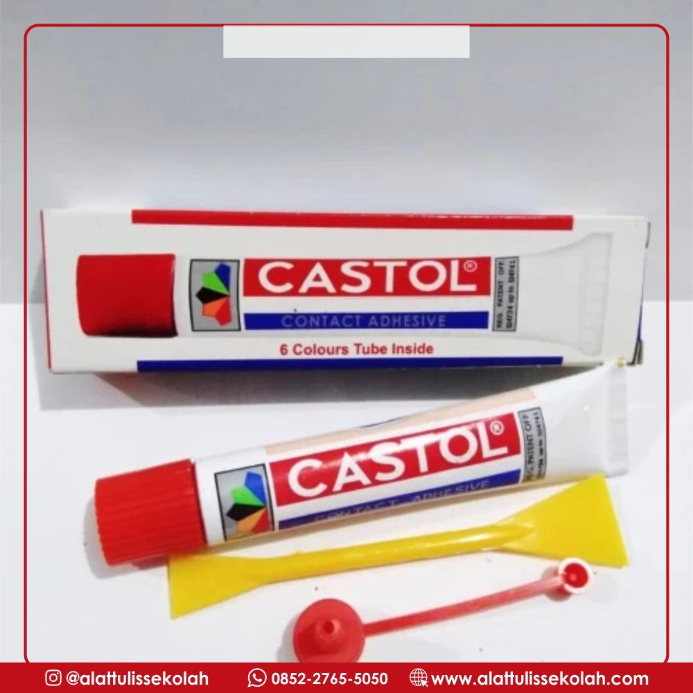 Nih Lem Multifungsi, Lem Castol Sedang