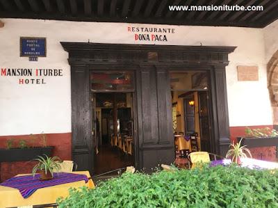 Restaurante Doña Paca en Pátzcuaro