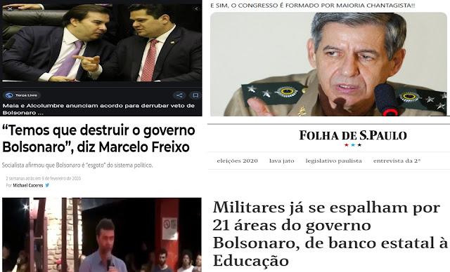 OS PASSOS DE BOLSONARO E AS 💣MINAS💣 DA ESQUERDA