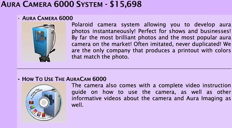 The AuraCamera 6000 System - Jen Tech Yoga