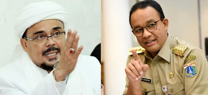 gubernur dki jakarta anies dipanggil polisi terkait acara resepsi pernikahan putri Habib riqieq
