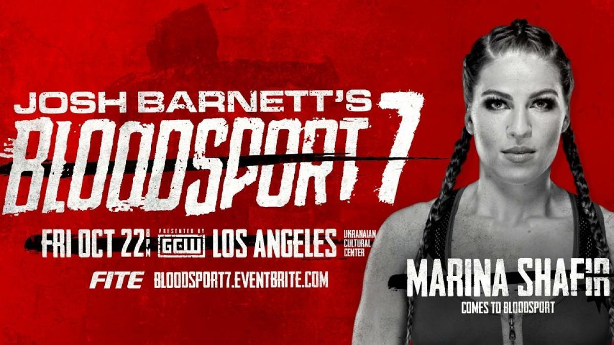 Marina Shafir e outros lutadores são anunciados para o Josh Barnett's Bloodsport 7