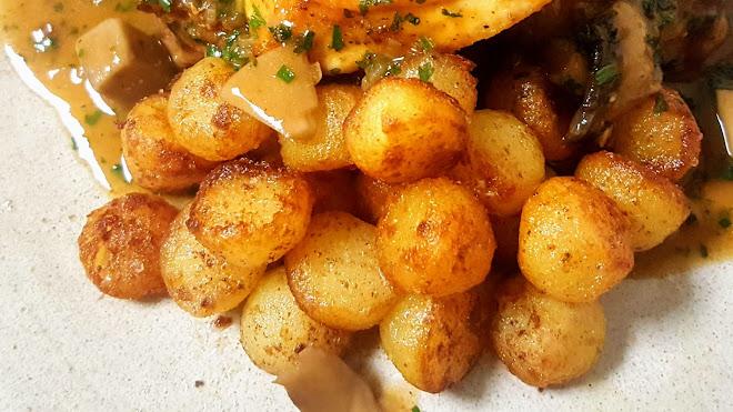 Rissoler des pommes de terre : Cocotte, Château, Noisettes