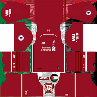 LIVERPOOL KIT IN DREAM LEAGUE SOCCER KITS 2019/2020 - KITS FTS