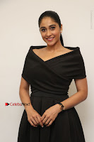Actress Regina Candra Pos in Beautiful Black Short Dress at Saravanan Irukka Bayamaen Tamil Movie Press Meet  0014.jpg