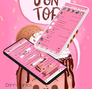 Ice Cream Theme For YOWhatsApp & Fouad WhatsApp By Drihh Santos