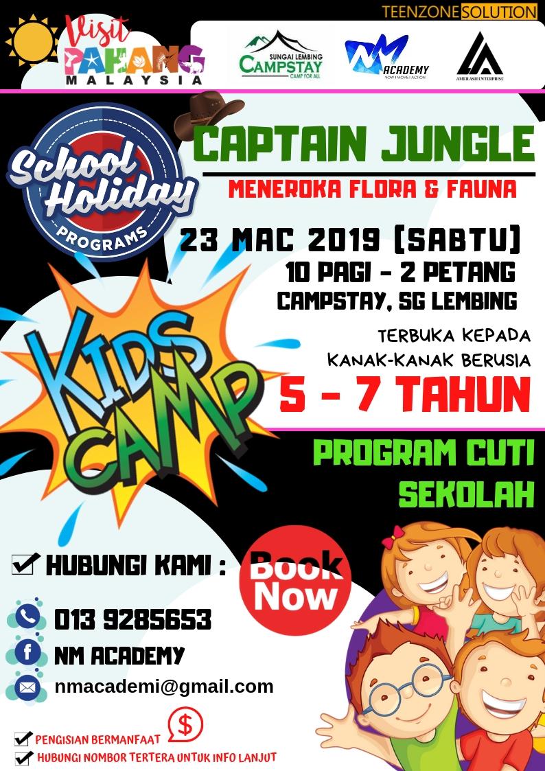 Program Cuti Sekolah Mac 2019