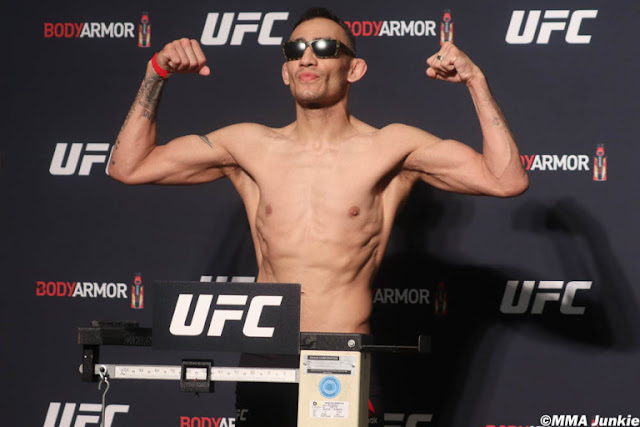 Tony Ferguson Weigh In