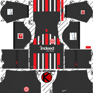 Eintracht Frankfurt Kits 2019/2020 -  Dream League Soccer Kits