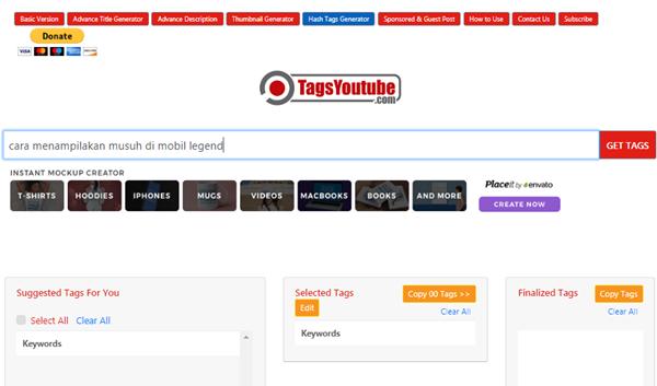 Membuat Tag YouTube Otomatis dengan mudah
