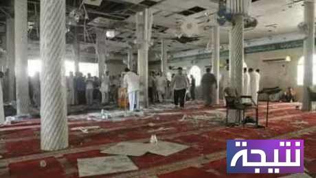 صور تفجير مسجد العريش وتفاصيل عن الحادث وعدد الضحايا