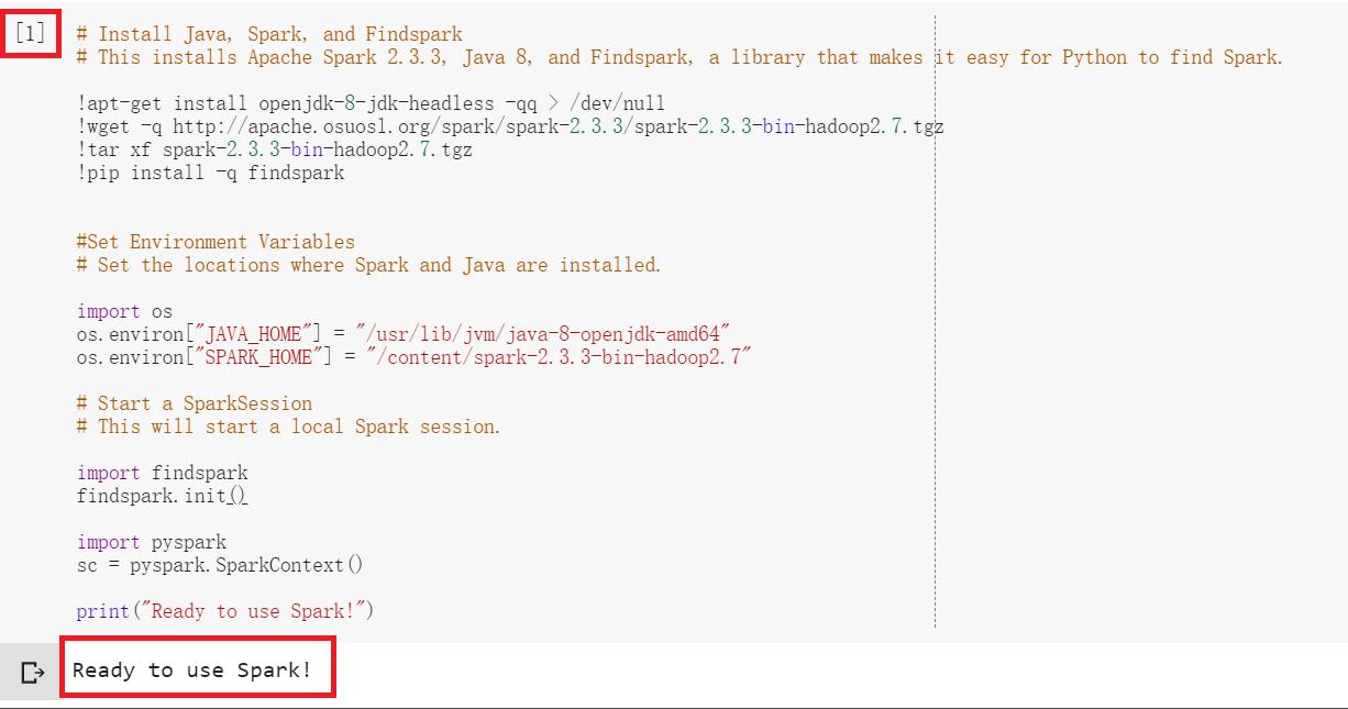 Spark Session Python