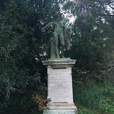 Statua Giasone Thorvaldsen Roma