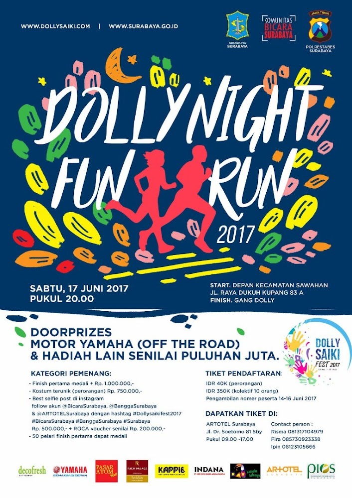 Dolly Night Fun Run • 2017