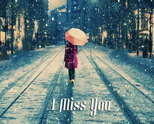 Missing Day Rain Whatsapp Status DP