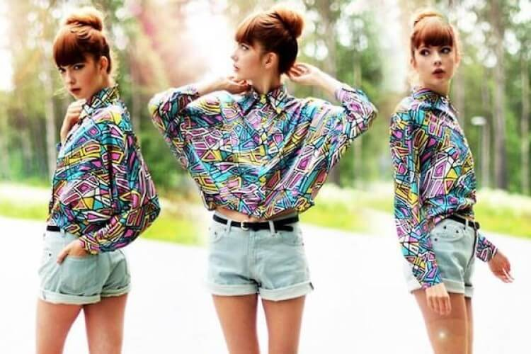 Eye-catching summer street fashion