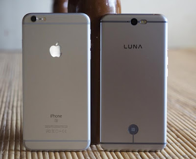 Luna smartphone, iphone rasa android
