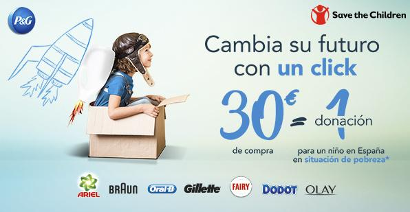 Ahorro solidario con el proyecto de Save the Children