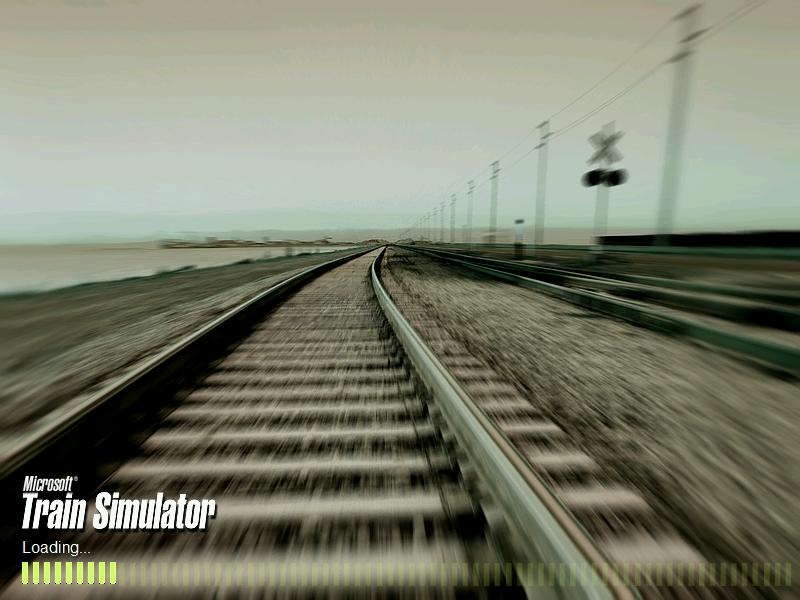 Microsoft Train Simulator PC Game