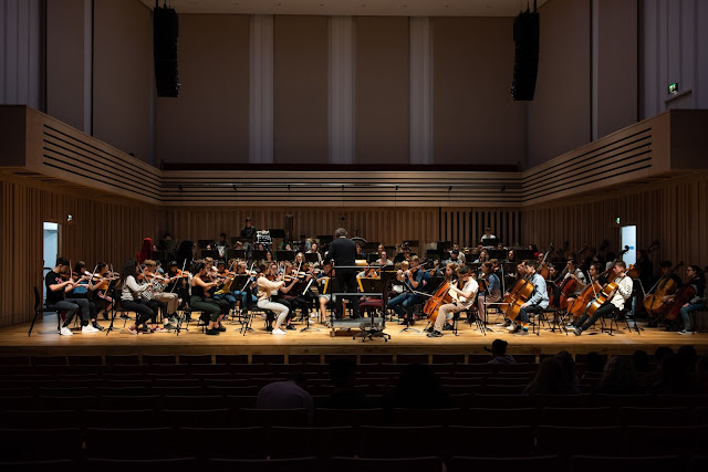 Chetham's Symphony Orchestra in The Stoller Hall