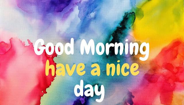 Good Morning art Image