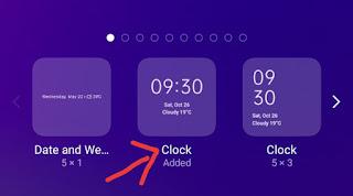 Home Screen Par Clock Set Kaise Kare