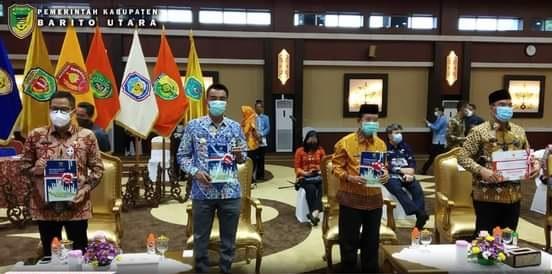 Pemkab Barito Utara Terima DIPA dan TKDD Tahun 2021