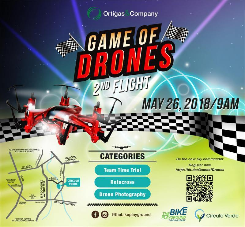Game of Drones Happening Tomorrow at Circulo Verde