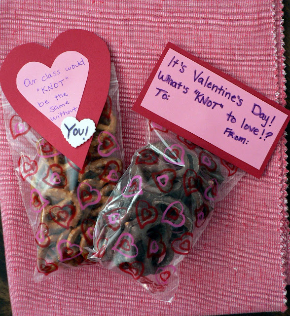 Healthy Valentine Treats for kids, healthy Valentines for kids, pretzel valentine