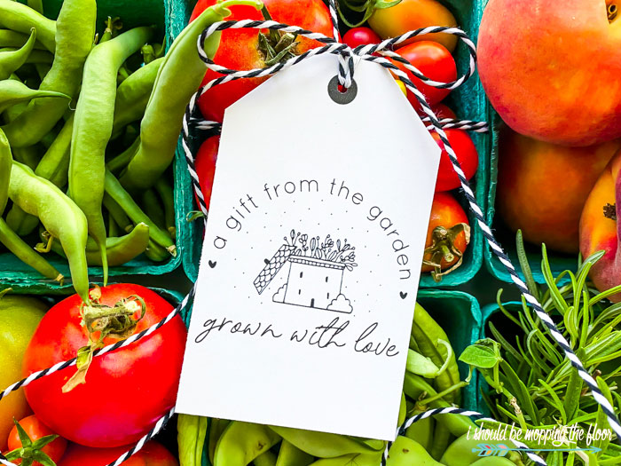 Garden Tags for Gifts