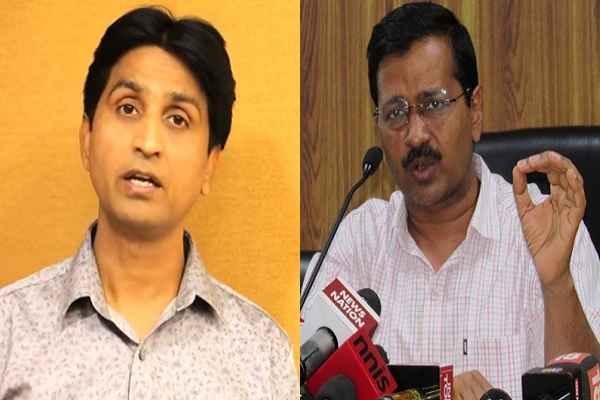 kumar-vishwas-once-again-target-arvind-kejriwal-mcd-election
