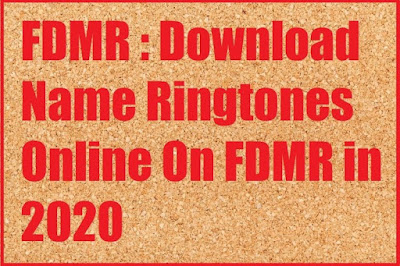 FDMR Name Ringtones Download