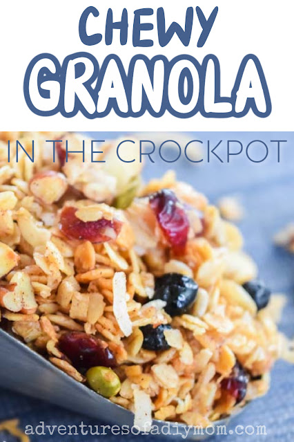granola with text overlay