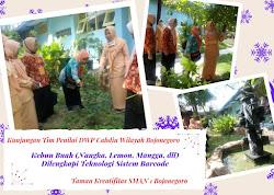 Taman Kreatifitas Mendapat Kunjungan Tim DWP Cabang Dinas Pendidikan Wilayah Bojonegoro