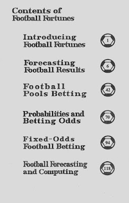 Football Fortunes book content