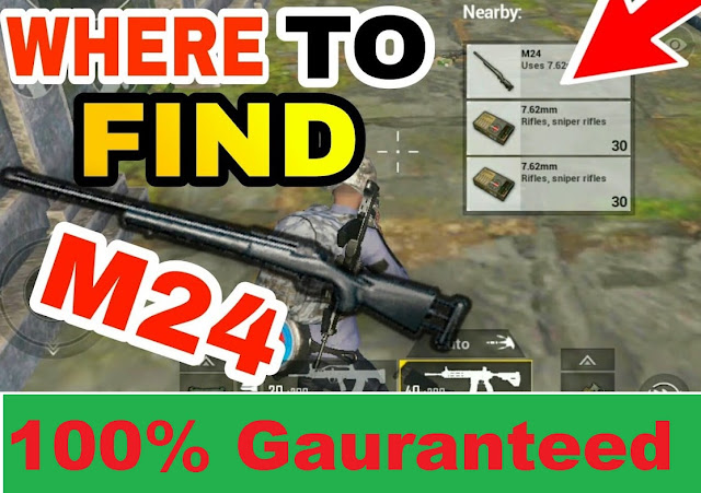where to find M24 sniper and 8x scope| 100%