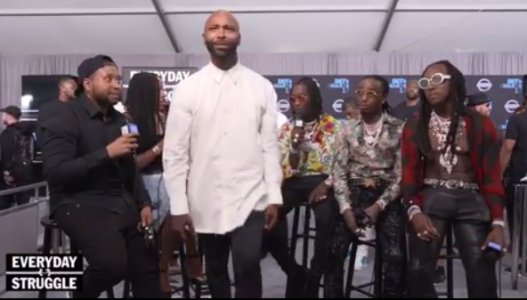 Here's all you need to know about the clash between veteran rapper Joe Budden and Migos at the 2017 BET Awards