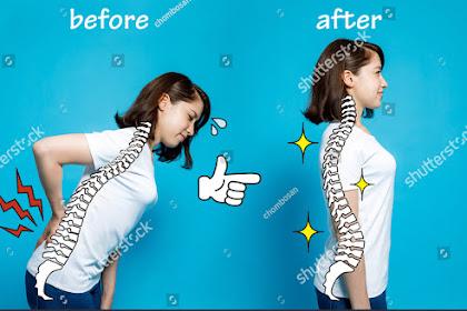 8 Tips Memperbaiki Postur Tubuh Bungkuk