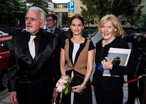 Princess Sofia wore ZARA Work Dress