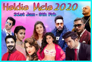 Haldia Mela 2020 | Artist List | Program List 2020
