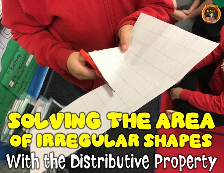 Find the area of irregular shapes