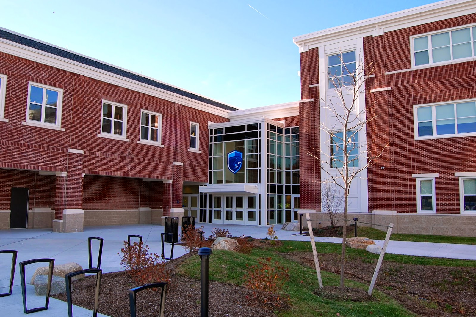 Community Entrance at Franklin High School, also to the Lifelong Learning offices