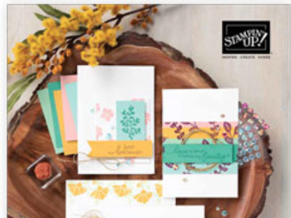 Stampin Up! New Annual Catalogue now live!